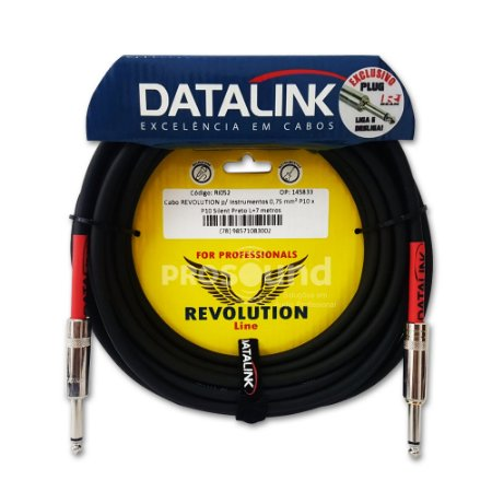 Cabo P10 P10 Datalink Revolution Line Silent 0,75 mm² 7 metros