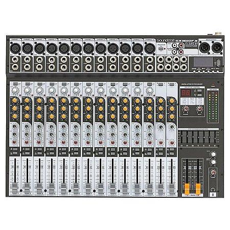 Mesa de Som Soundcraft SX 1602 FX USB