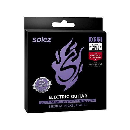 Encordoamento Guitarra DLP Solez SLG11 011