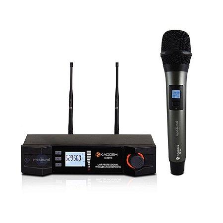 Microfone Sem Fio Kadosh K-491M