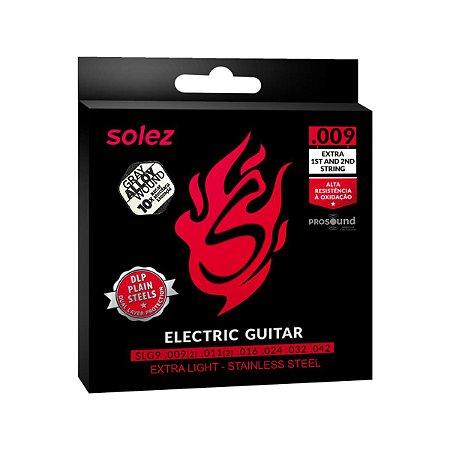 Encordoamento Guitarra DLP Solez SLG9 009 Gray Alloy Wound