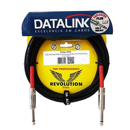 Cabo P10 P10 Datalink Revolution Line Silent 0,50 mm² 3 metros