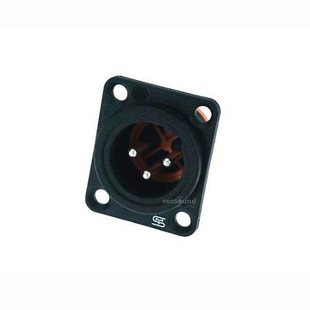 Conector XLR Macho Painel Smart Pro SVP555P IP54