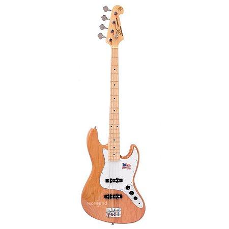 Contrabaixo SX SJBALDER Jazz Bass Passivo 4 Cordas Natural