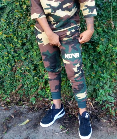 Jogging Pants All Camo NOVA