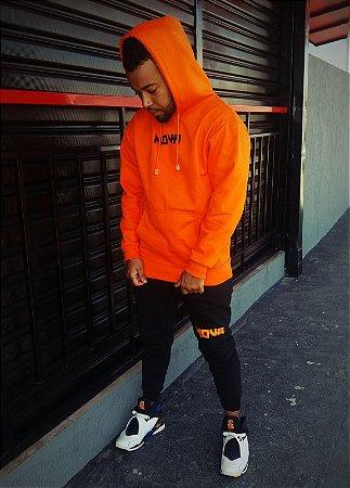 Conjunto Orange Black NOVA