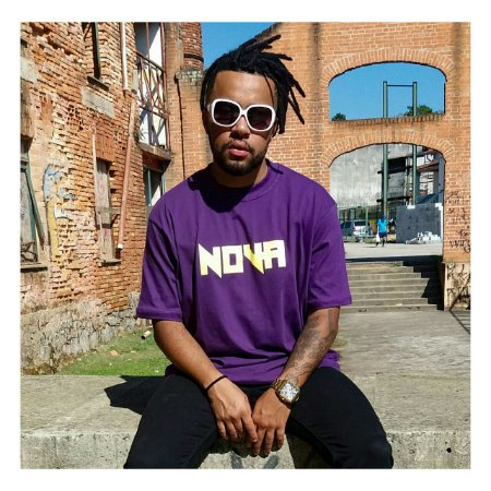 Camiseta Purple NOVA