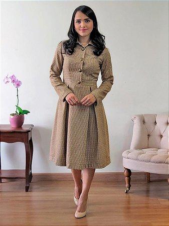 Vestido de Lã Clássico