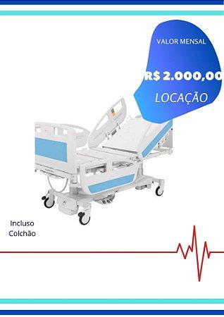 CAMA HOSPITALAR MOTORIZADA LUXO