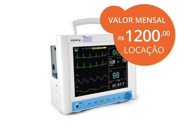 Monitor Multiparâmetros MEC1000