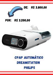 CPAP Automático Dreamstation + Umidificador -  Philips
