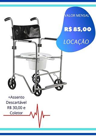 CADEIRA DE BANHO COM FRASCO COLETOR