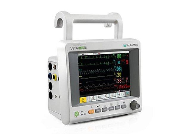 Monitor Multiparâmetros ALFAMED 600e