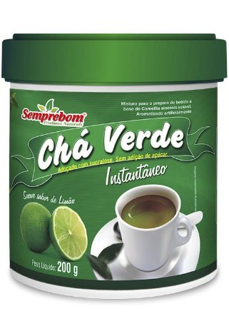 Chá Verde Instantâneo