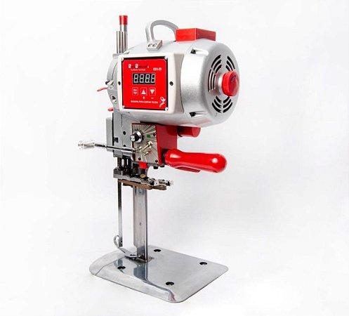 Máquina Corte Tecido Eletrônica Faca 8' SSH-3D Vermelha 1200w 220v Sun Special