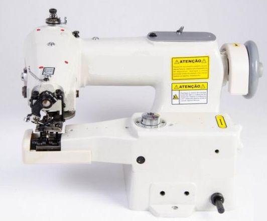 Máquina Bainha Invisível Industrial Zoje ZJ-600