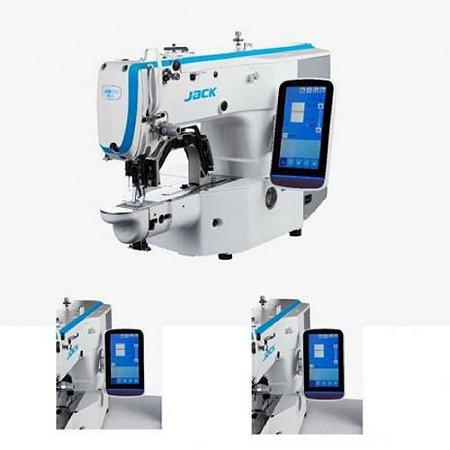 Máquina Travete Caseadeira Botoneira JACK IJKT1900G Multifunção