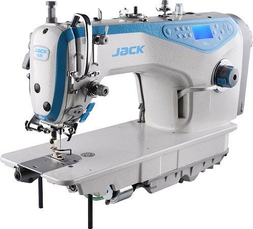 Máquina Reta Eletrônica Jack A5 Carter Selado Limpeza Inicial (Máquina que Fala)