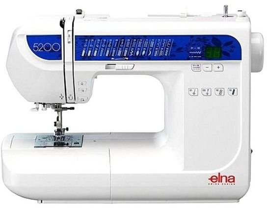 Máquina de Costura Elna 5200 Patchwork e Quilting