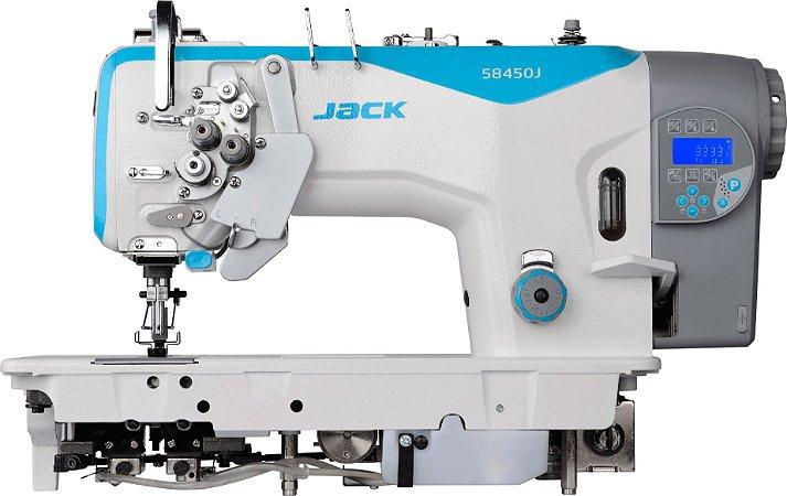 Máquina 2 agulhas Eletrônica Jack com Desligamento JK58720J405
