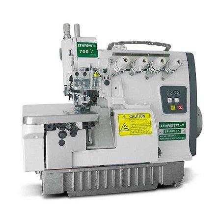Máquina de Costura Overloque 4 Fios Sew Power SP-700D-4 Direct Drive - Bivolt