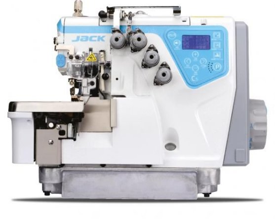 Overloque Eletrônica Jack 4 fios modelo C5-4 - BK A Máquina que Fala!