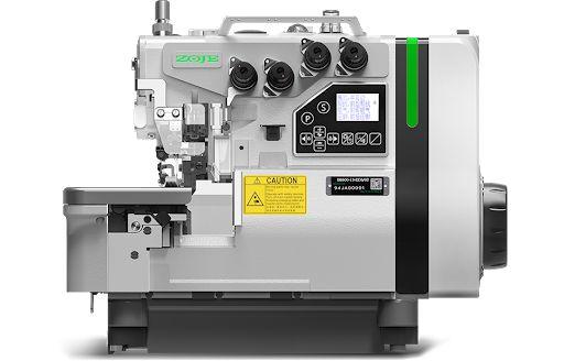 Máquina Overloque 4 fios Zoje B9500-13-ED3-02 Levante + Corte + Sucção