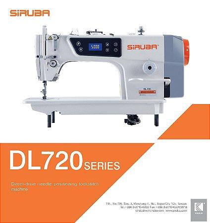 Máquina de Costura Reta industrial Siruba DL720-M1A com Motor Direct Drive 220v