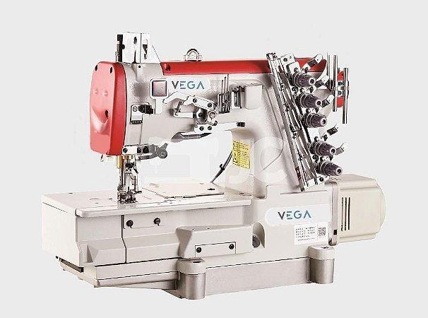 Máquina Costura Galoneira (Cobertura) Eletrônica Fechada Lantece 858D-01CBX364