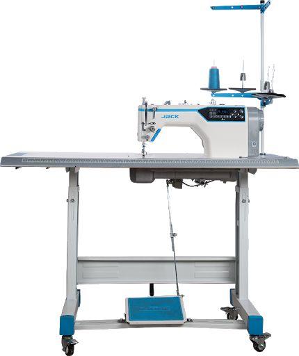Máquina Reta Eletrônica Jack A4E - Lançamento