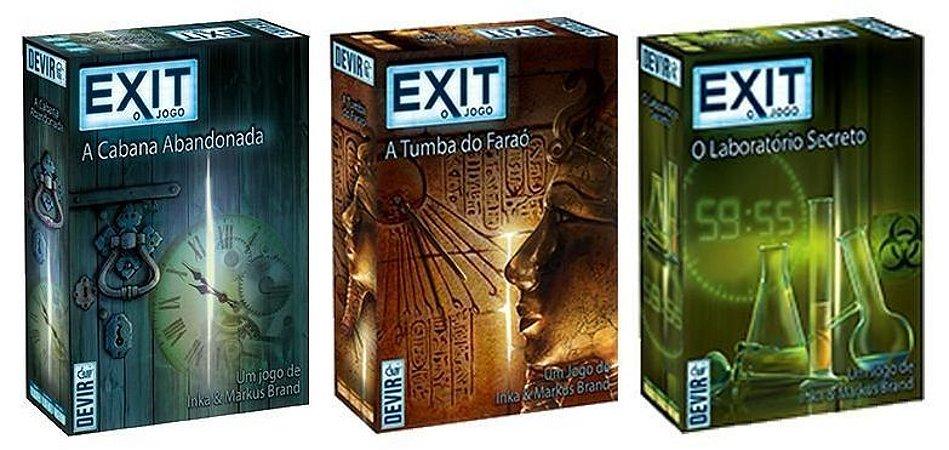 Combo: Exit - PRÉ VENDA