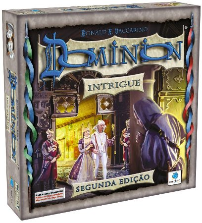 Dominion 2ª Ed - Exp Intrigue - Pré Venda