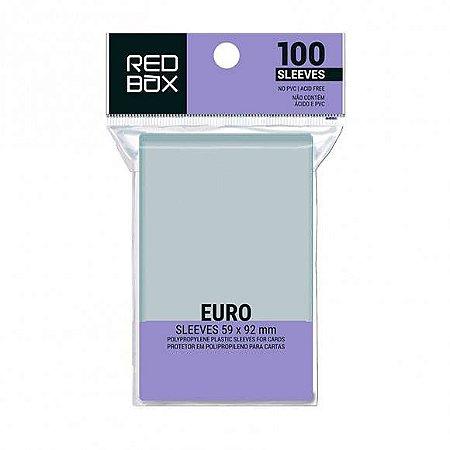 SLEEVES REDBOX EURO 59 X 92 MM