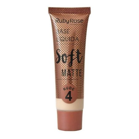 Base Liquida Soft Matte Ruby Rose Nude 4