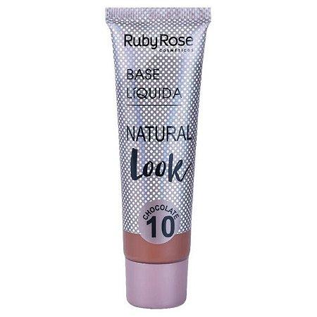 Base Liquida Natural Look Chocolate 10