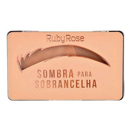 Sombra para Sobrancelha Ruby Rose Caramelo 2
