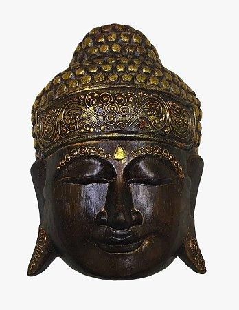 Máscara de Buda decorativo Bali 30cm