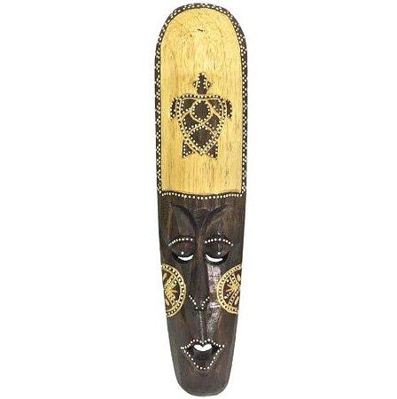 Máscara Decoração Enfeite de Parede Tartaruga  - 50cm