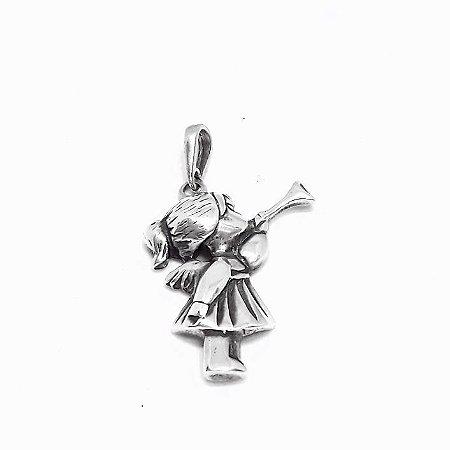 Pingente Prata 925 Anjo da Guarda