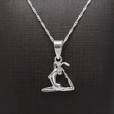 Pingente Prata 925 Yoga