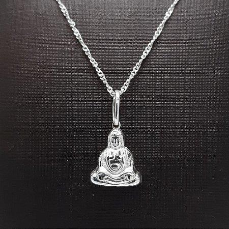 Pingente Prata  925 Buda