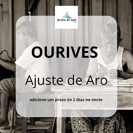 Ajuste de Aro - ourives - 01 equivale a 01 uma peça