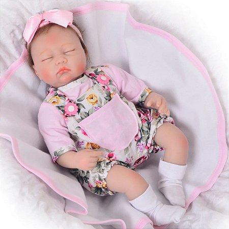 Bebê Reborn Lançamento 2021 Corpo Tecido