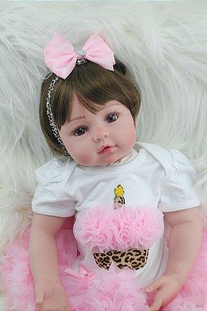 Boneca Bebe Reborn 56cm - P4JGKMKFH