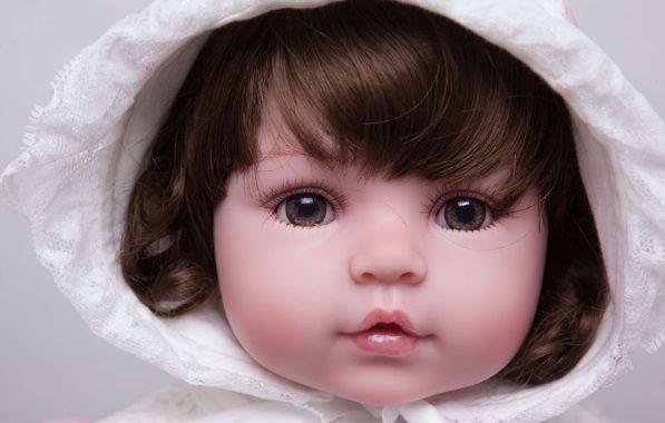 Boneca Bebe Reborn 55cm LANÇAMENTO - CT7BPS9CY