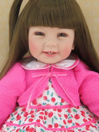 Linda Boneca 60cm Cabelos longos - WVXJUMR4F