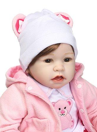 Bebê Reborn 55 Centímetros Fofura - QVNXTNTUX
