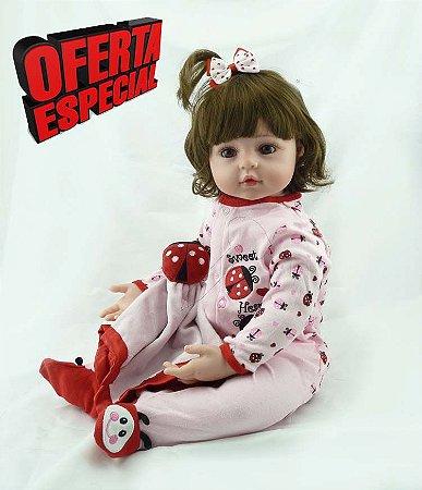 Boneca Reborn 56cm Boneca Realista - UMADD5HSB