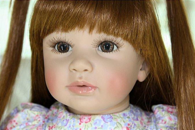Boneca Bebe Reborn 60cm LANÇAMENTO - BP7S5VC9R