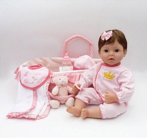 Bebê Nenem Realista 41 Centímetros - 8MGGJ93XV